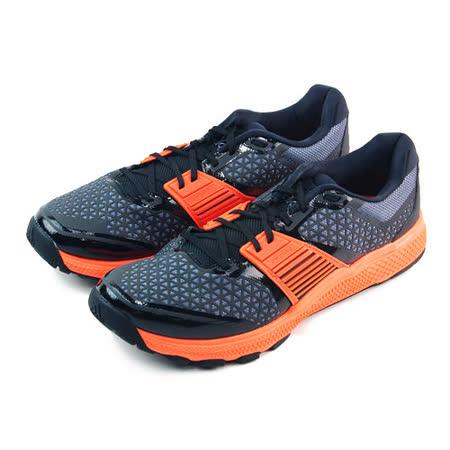 (男)ADIDAS CRAZYTRAIN BOUNCE 訓練鞋 黑/橘-B23617