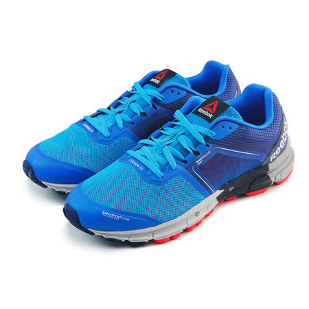 (男)REEBOK ONE CUSHION 3.0 慢跑鞋 藍-V66336