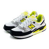 (男)NEW BALANCE 復古鞋 白/黑/螢光黃-M530AAB