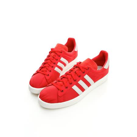 adidas(男)休閒網球鞋-紅Q23079