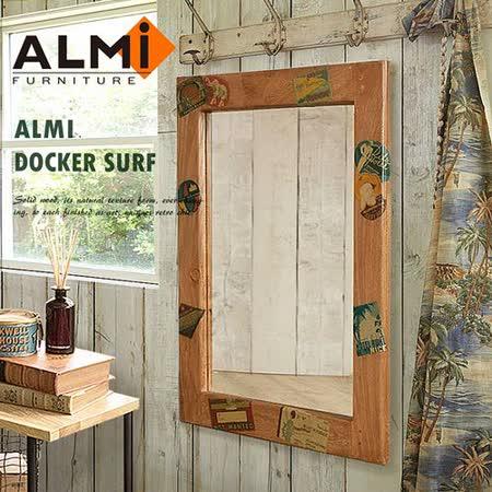 【ALMI】DOCKER SURF- MIRROR 60x80 造型掛鏡