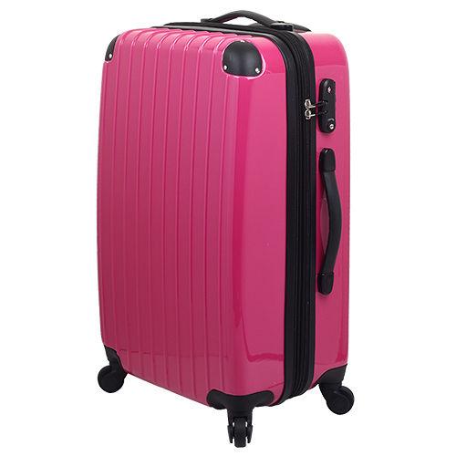 LETTi 『繽紛絢麗』28吋 PC鏡面旅行箱-桃紅遠東 百貨 寶 慶 店色