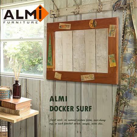 【ALMI】DOCKER SURF- MIRROR四方掛鏡50x70