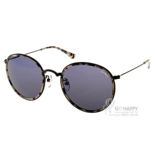 PAUL HUEMAN太陽眼鏡 前衛 圓框款 ^(黑~琥珀^) ^#PHS1041A C3
