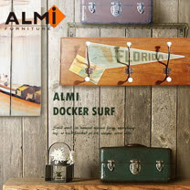 【ALMI】DOCKER SURF- HANGCLOTHES 三桿造型壁架