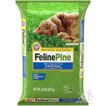Feline Pine 斑比 松木砂 20LB / 9.07kg X 1包