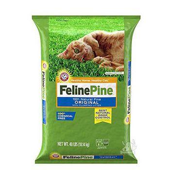 Feline Pine 斑比 松木砂/貓砂 40LB / 18.14kg X 1包
