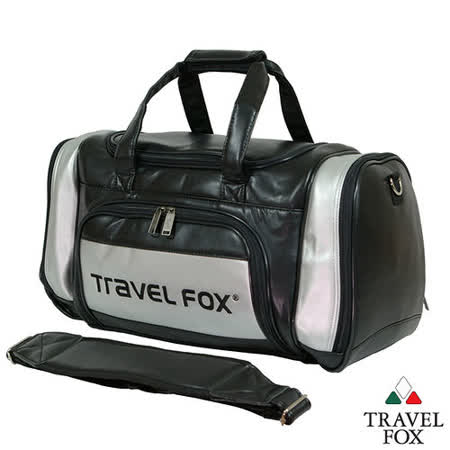 Travel Fox 旅狐乾濕分離休閒運動衣物袋(銀)(TB036-60)