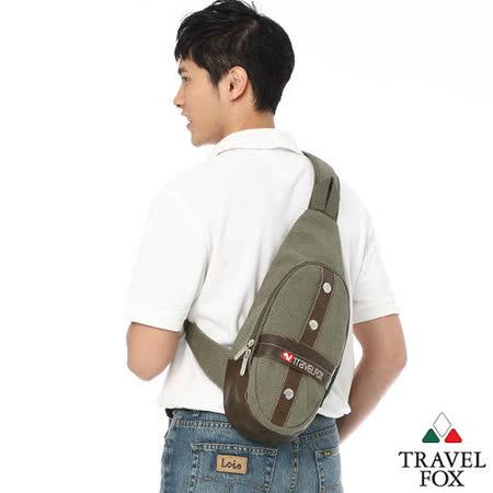 Travel Fox 旅狐十字軍單肩斜背包(綠)(TB346-17)