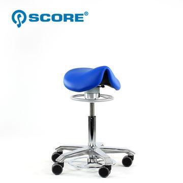 SCORE 荷蘭Score 醫療級馬鞍椅~小坐墊無背 活力藍