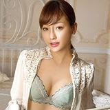 【華歌爾】花焰浪漫風情B-D罩杯內衣(柔粉綠)