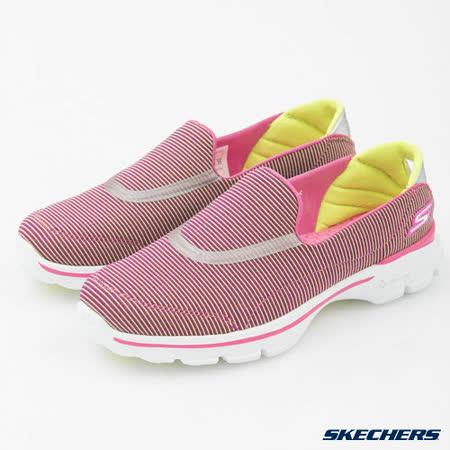 SKECHERS (女) 健走系列 GO Walk 3 - 13989PKLM
