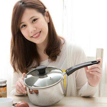 清水 鋼鋼好不鏽鋼原味湯鍋 18cm