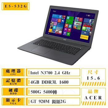 ACER E5-532G-P7C6 (N3700/4G/500GB/NV 920 2G/DVD/15.6) 送原廠清潔組