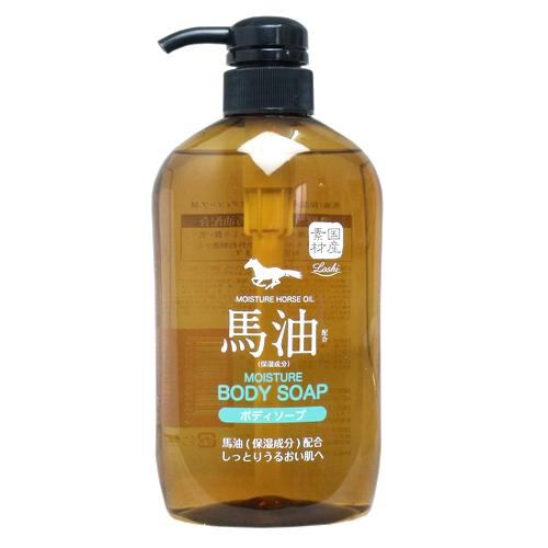 Horse Oil馬油沐浴精600ml