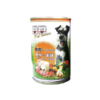 戀戀高蛋白狗罐頭-雞肉  440g