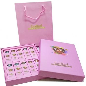 【星空棒棒糖- 經典黑/浪漫粉】10支禮盒裝,附提袋 10盒免運組