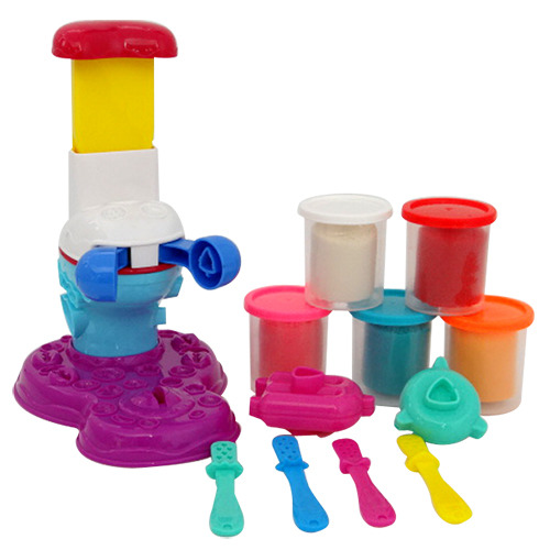 兒童安全彩泥黏土冰棒製造機(5色)(CE)