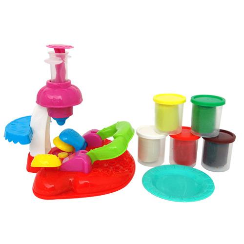 兒童安全彩泥黏土甜點製造機(5色)(CE)