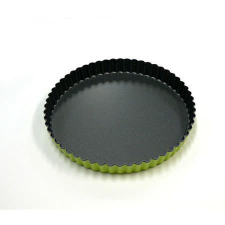 日本CAKELAND GREEN活動式不沾派餅模(22cm)