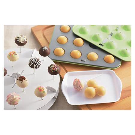 日本CAKELAND GREEN不沾棒棒糖蛋糕模盤專用紙棒(36P)