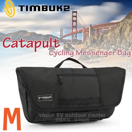 【美國 TIMBUK2】新款 Catapult 輕巧郵差包(M,5L) /744-4-2001 黑
