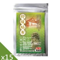 【GMP奈米製藥】舒緩貼布(10片/包)X15特惠組