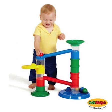 以色列Edushape 進階微笑軌道球玩具組 Rollipop Advanced