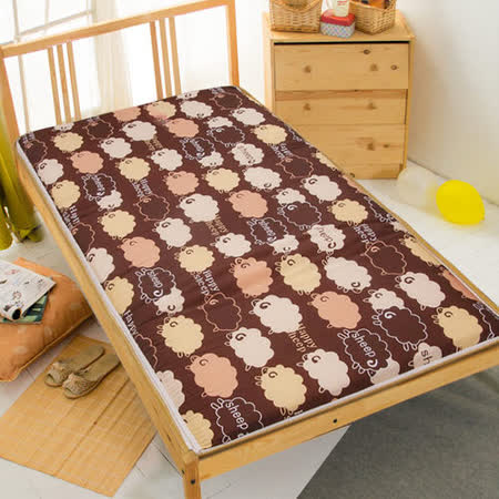 【綿綿情意】冬夏兩用折疊床墊(單人)