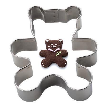 日本CAKELAND不銹鋼大熊餅乾壓模