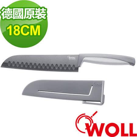 德國 WOLL系列 18cm三德刀 (M018)-附安全護套