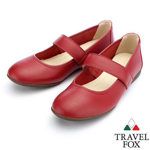 ~女~Travel Fox 雅典娜休閒鞋913813^(紅~04^)