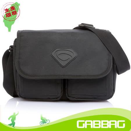 GABBAG 堺谷側背包(iPad平板可入)(黑)(GB14112-01)