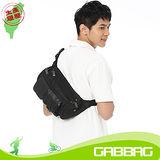 GABBAG 池谷臀/腰/斜背包(黑)(GB11112-01)