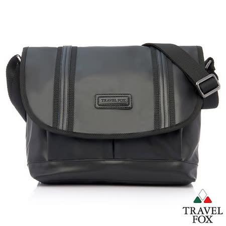 Travel Fox 旅狐托納側背包(平板、NB可入)(黑)(TB621-01)