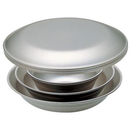 日本 Snow Peak SP 不鏽鋼餐盤組-2人四件組(Tableware Set L Duo)餐具組.碟子.碗盤組 TW-021D