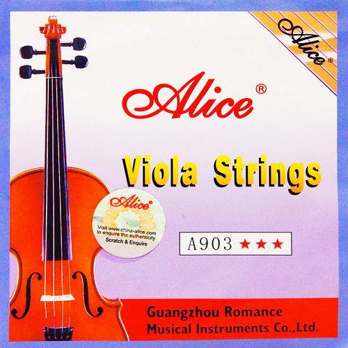 ~美佳音樂~Alice A903 鋼芯德銀纏弦鍍鎳珠頭 中提琴套弦
