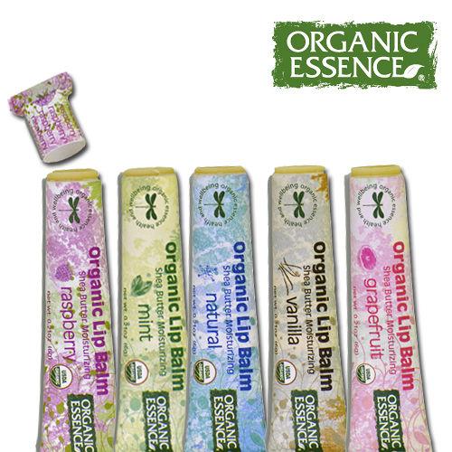 Organic Essence-美國護唇膏6g(5入組)(環保裸裝)
