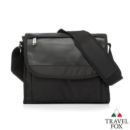 Travel Fox 旅狐歐格納鑽紋側背包(黑)(TB599-01)