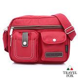 Travel Fox 旅狐西堤全防護側背包(紅)(TB605-04)