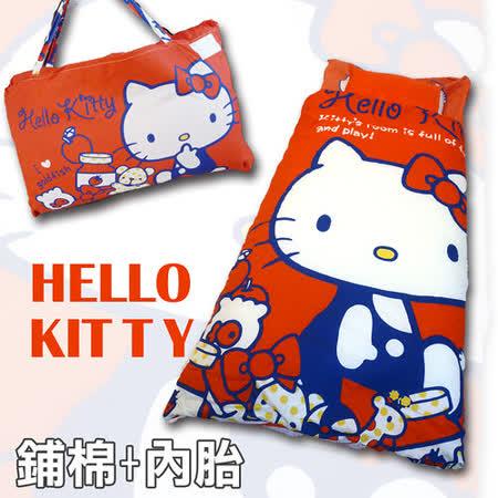 La Veda【舖棉+內胎】HELLO KITTY-我的遊戲室-紅