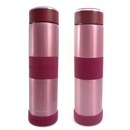 【2組】飪我行316不鏽鋼超真空保溫保冷瓶850ML艷麗紅(CI-850A)