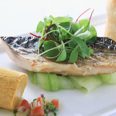 【富琳嚴選】燒烤組合-鹽烤秋刀*3+薄鹽鯖魚片*3