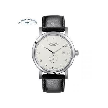 【好物推薦】gohappy線上購物格拉蘇蒂·莫勒 Muehle·Glashuette 經典系列-日耳曼時計 M1-39-15-LB 機械男錶評價如何太平洋 sogo 台北