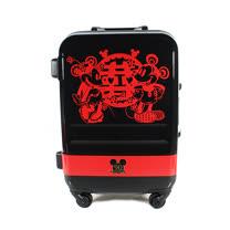90週年紀念款【CROWN皇冠】19.5吋 Disney 米奇 3.1kg輕量高級蜜月旅行箱 C-FA029 行李箱 米老鼠