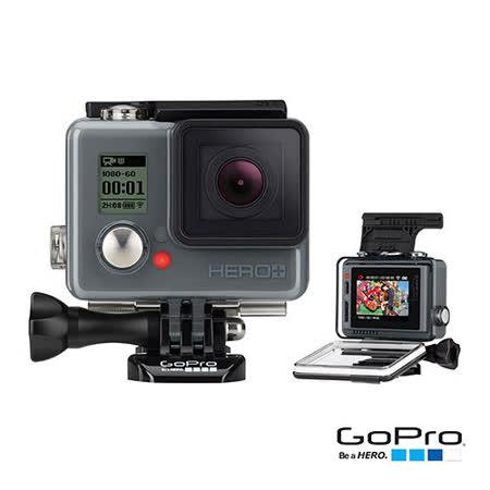 【GoPro】HERO+入門版LCD運動攝影機 CHDHB-101(忠欣公司貨)