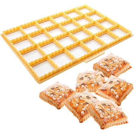 《TESCOMA》24格餅乾壓模板(菊花方)