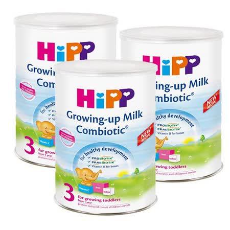 HiPP喜寶雙益幼兒成長奶粉/3入