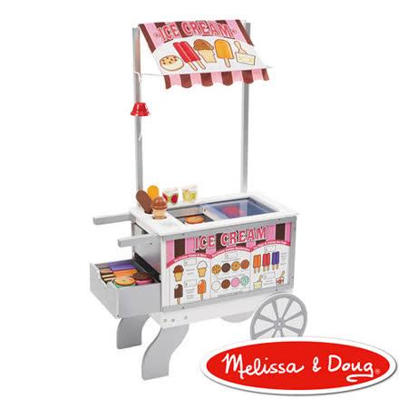 美國瑪莉莎 Melissa & Doug 木製玩食趣 – 小老闆的點心餐車