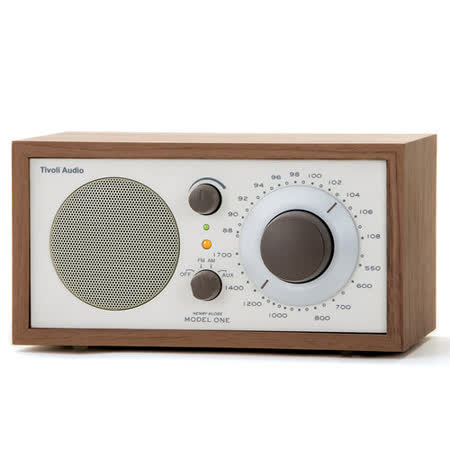 Tivoli Audio - Model One AM/FM 桌上型收音機-胡桃木色